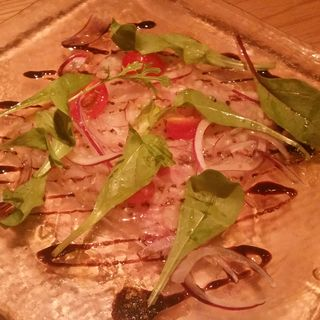 本日鮮魚のカルパッチョ(エムハウス(M HOUSE))