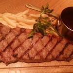 US産 アンガスビーフのステーキ