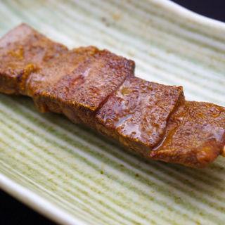 レバー串(魚に鍋に炭火焼 いちかわ 藤 (【旧店名】もつやき藤))