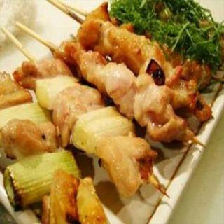 豚鶏おまかせ串(魚に鍋に炭火焼 いちかわ 藤 (【旧店名】もつやき藤))