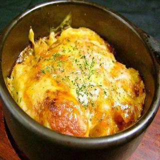 チーズグラタン(魚に鍋に炭火焼 いちかわ 藤 (【旧店名】もつやき藤))