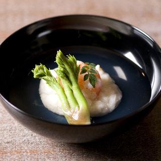 海老真薯 椀物(真々田 )