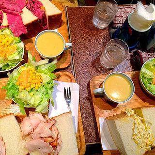 タマゴサンドイッチ(アメリカン )