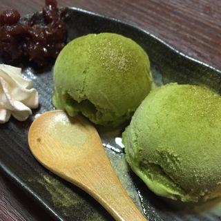抹茶アイス(ねぎ太郎 第一ホテル店)