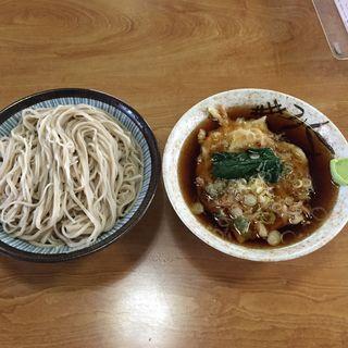 ひたし天ぷら蕎麦(すずや)