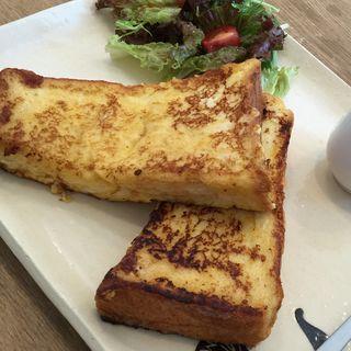 フレンチトーストセット(カフェミナミ (cafe.minami373))