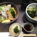 生鰆丼とミニうどんセット