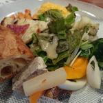 彩(いろどり)フレンチプレート 〔パン  サラダ付〕