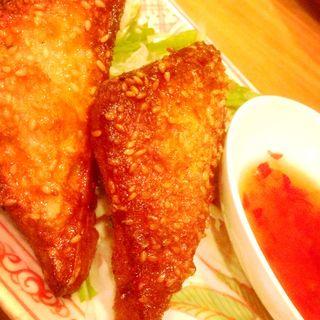 タイ風シュリンプフライドトースト(杏's cafe (アンズカフェ))