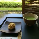 上生菓子と抹茶