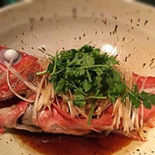 金目鯛の煮付け(夢酒 (ムッシュ))
