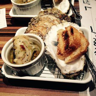 牡蠣のオイル煮(おっけい 相模大野店)