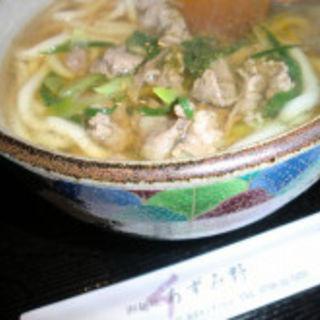 肉うどん(御麺処 あずみ野 (アズミノ))