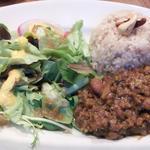 ひよこ豆と野菜のキーマカレー