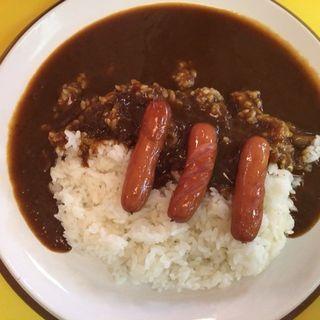 ソーセージカレー(印度のルー 新大阪店)