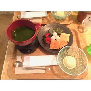 抹茶フォンデュ(神楽坂 茶寮 武蔵小杉東急スクエア店 )
