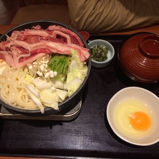 すき焼き鍋(和食さと 京都五条店 )