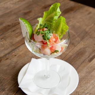 新鮮な魚介のセビーチェ ライム風味(ラ・コシーナ・ガブリエラ・メヒカーナ (LA COCINA GABRIELA MEXICANA))
