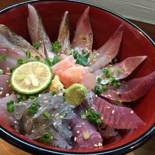 海鮮丼(旬魚菜しら川)