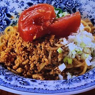 トマトのタンタン冷麺(和漢同菜 唐朝 )
