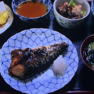 サバの塩焼定食(季膳 (のりぜん))