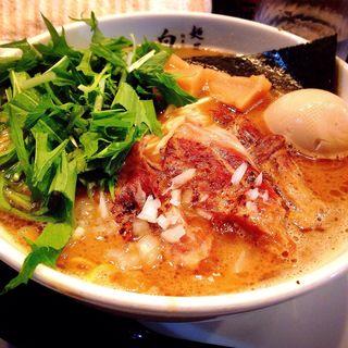 味玉軟骨えびそば(麺屋 白神 )