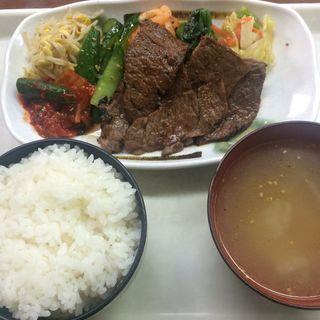 カルビ定食(ソウル市場 (ソウルイチバ))