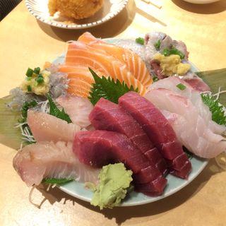 刺身3点盛り(タカマル鮮魚店 )