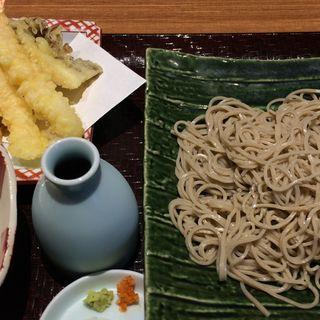 えび天ぷら蕎麦(やまきた )