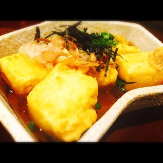 揚げ出し豆腐(魚平)