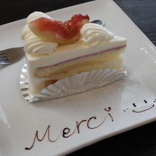 旬のフルーツのショートケーキ(クレーム プリュス (crème×plus))