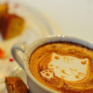 カプチーノ(HAMA CAFE)