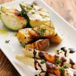 グリル野菜3種の盛り合わせ