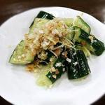 きゅうりの台湾サラダ
