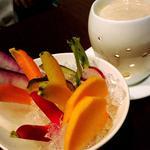 鎌倉野菜のバーニャカウダ(かさぶた (casabuta))