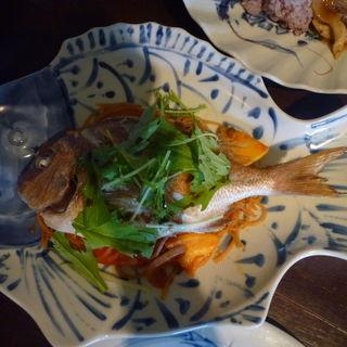 佐島、本日の地魚のトマトスパゲティ(マーロウ 秋谷本店 )