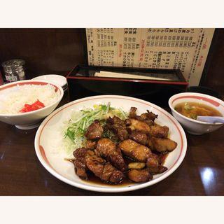 とんてき定食(一楽)