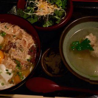 炭火炙り!親子丼(佐賀県三瀬村ふもと赤鶏 丸の内店 )