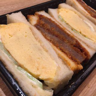 ミックスサンド ビーフカツ&ふんわりオムレツ(志津屋 イオンモール京都桂川店 (SIZUYA))