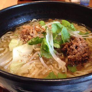 肉そば(粥麺楽屋 喜々 (カユメンガクヤキキ))