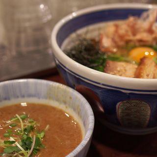 釜玉つけ麺(麺や 庄の (めんやしょうの))