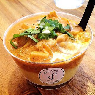 海老ときのこのストロガノフポテトクリーム(ポテトクリーム (Potato Cream))