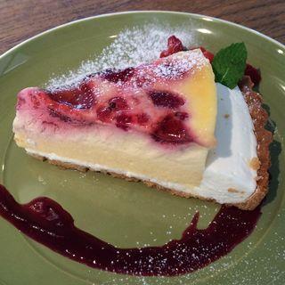 ブルーベリーチーズケーキ(イン・ザ・グリーン   )