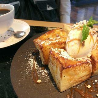 フレンチトーストセット(桜珈琲富田林店 )