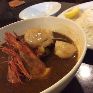 シーフードのカリー(Curry Di SAVOY)