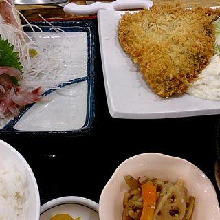鯵づくし定食(漁師めし食堂 )