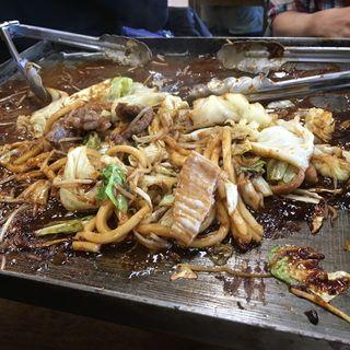 味噌焼きうどん(一人前)(亀八食堂 (かめはちしょくどう))