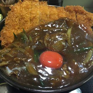 カレーカツ丼(そば処 まる栄 (まる榮))