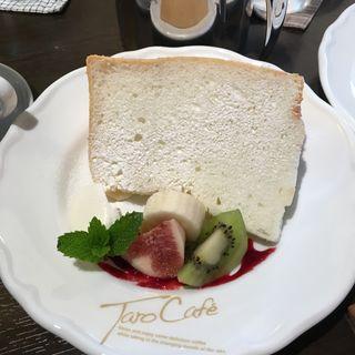 シフォンケーキ(タロカフェ (TARO CAFE))