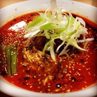 担々麺(鉄火)